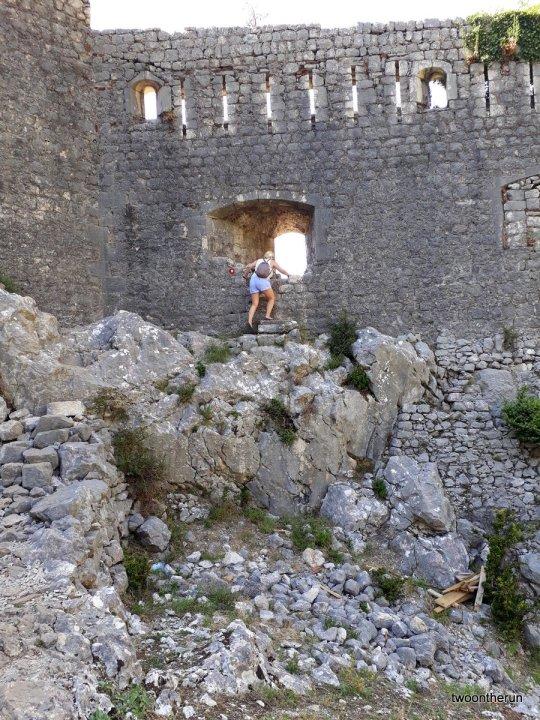 Kotor - Die letzten Meter zum Aussichtspunkt