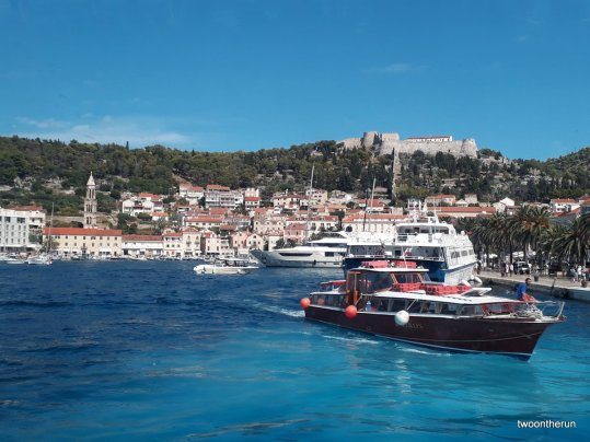 Fährfahrt nach Split - Brac