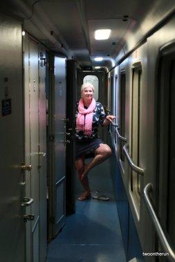 Nach Hause mit dem Zug