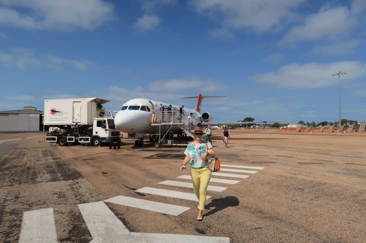 Ankunft in Broome