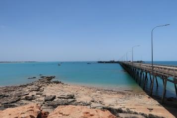 Der Hafen von Broome