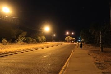 Broome - Spaziergang zurück zum Hotel