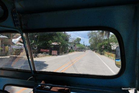Mit dem Tricycle auf Bohol