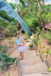 El Nido - Abstieg von unserer Unterkunft