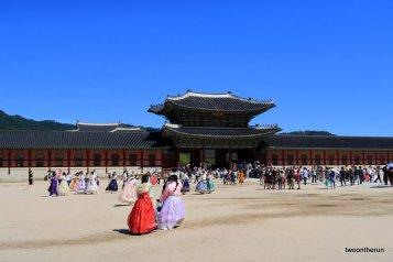 Im Gyeongbokgung Palast