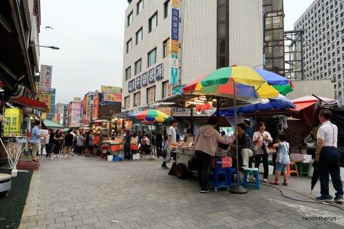 Seoul Straßenmarkt