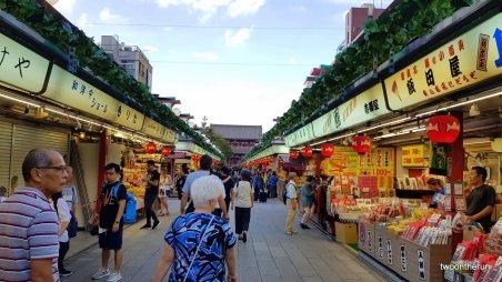 Markt in Asakusa