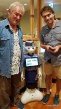 Kyoto Hamazhushi Begrüßungsroboter