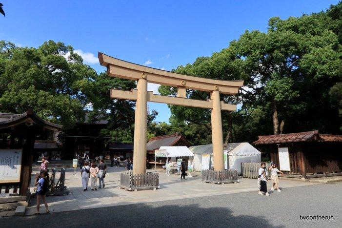 Meiji-jingü Tempel in Yoyogi
