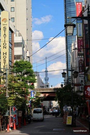 Tokio - Straßenbild