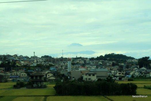 Mt. Fuji - Bahnfahrt nach Kyoto