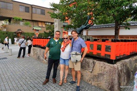 Treffen mit Dirk - Fushimi Inari-taisha