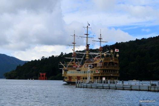 Hakone NP - Auf dem Lake Ashi